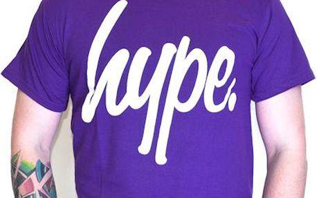 Triko HYPE Script Purple/White fialová / bílá XL