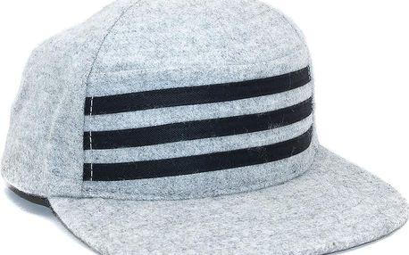 Kšiltovka DOPE Couture Stars and Stripes Grey/Black Snapback šedá / černá / šedá