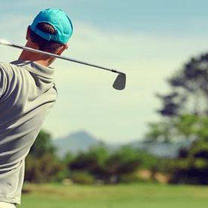 Intenzivní 5denní kurz golfu