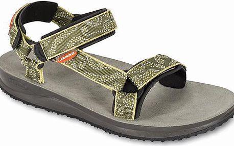 Dámský model již klasických trekových sandálů s koženou stélkou Lizard Super Hike W 2015 maori green 42