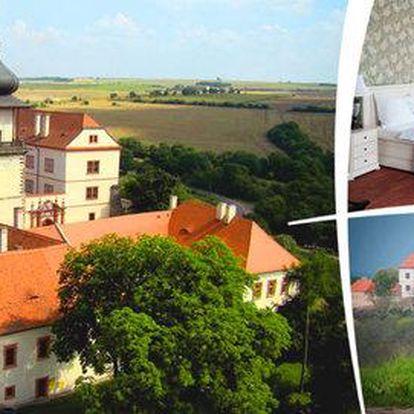 Romantický pobyt na zámku se snídaní