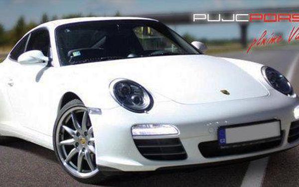 Jízda sportovním vozem Porsche Carrera 911