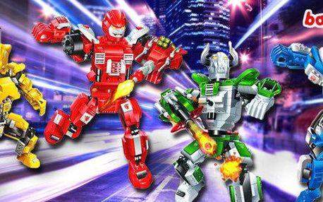 Roboti Transformer - stavebnice BanBao