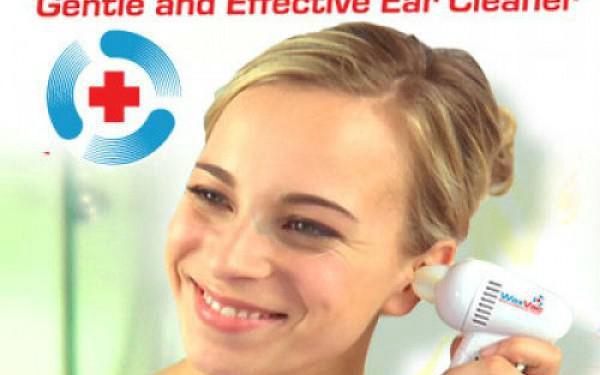 WaxVac elektrický přístroj na šetrné čištění uší!4