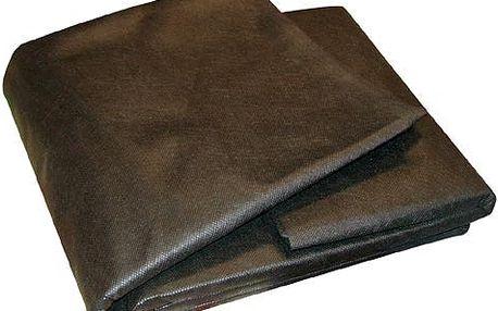 Textilie netkaná černá 1,6 x 10 m