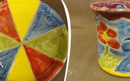Kurz točení na hrnčířském kruhu v Penzionu Keramika