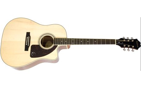 Elektroakustická kytara Epiphone AJ-220SCE NA