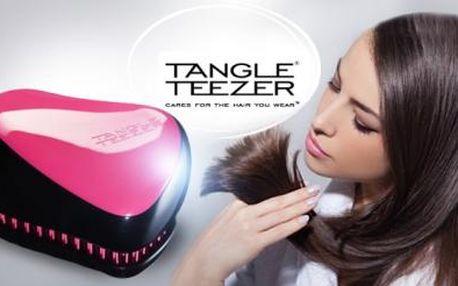 ORIGINÁLNÍ cestovní růžový KARTÁČ Tangle Teezer včetně poštovného! Pro silné, zdravé a lesklé vlasy!