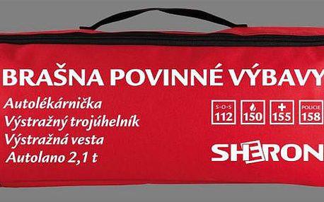 Sheron brašna povinné výbavy červená CZ