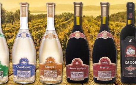 Výběr 5 moldavských vín