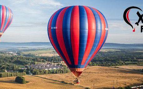 Vyhlídkový let balonem pro jednoho