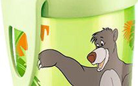 NUK Disney Active Cup Láhev 300 ml s Sí pítkem, 12+ m Kniha džunglí zelená