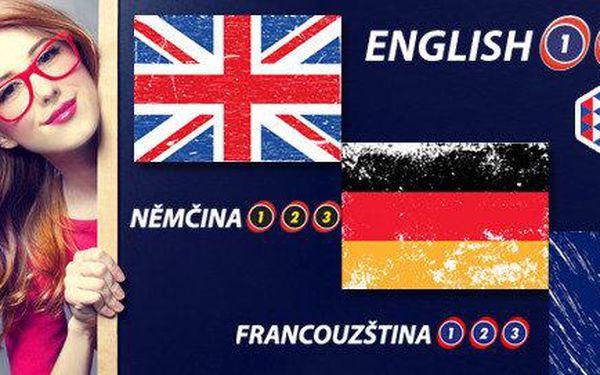 Online kurzy angličtiny, němčiny, francouzštiny