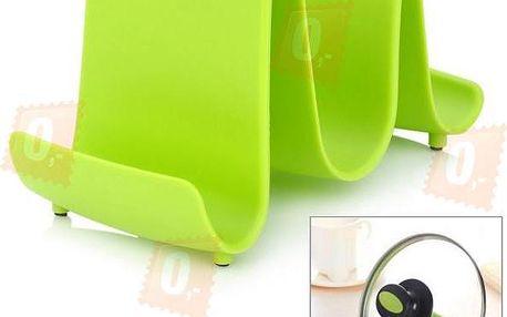 Designový držák na pokličky - 3 barvy