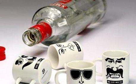 Hrníčkové panáky The Mug Shots - 4 ks!