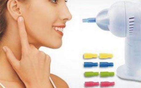 WaxVac elektrický přístroj na šetrné čištění uší!