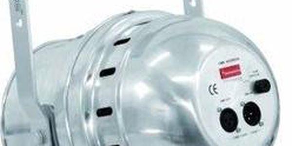 Eurolite LED PAR-64 UV stříbrný, 183x 10mm LED2