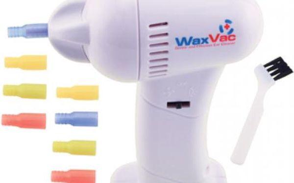 WaxVac elektrický přístroj na šetrné čištění uší!2