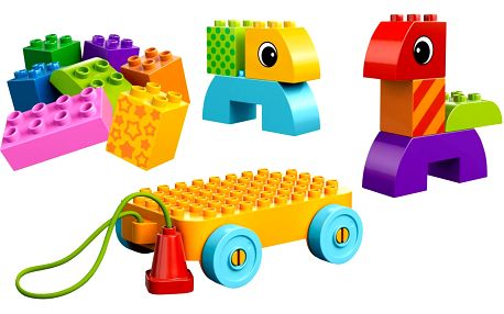 DUPLO Toddler Tahací hračky pro batolata