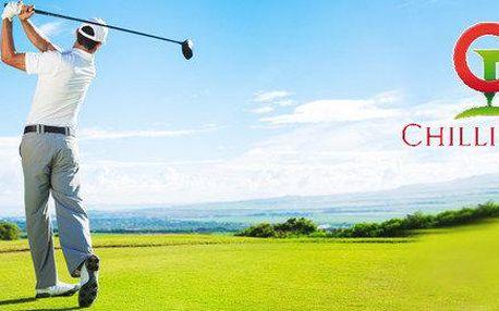 Úvodní golfová lekce s Chilli Golf Academy…