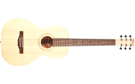 Akustická kytara Norman Expedition Natural Solid Spruce Parlor SG