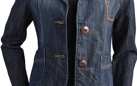Cross Jeans Džínové sako D 528-005 - BÍLÉ