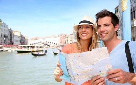 Benátky s koupáním na ostrově Lido