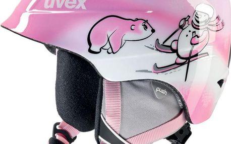 UVEX AIRWING 2 Pink Snowman 48 - 52 cm lyžařská přilba