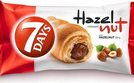 7 Days 7 Days Croissant s lískooříškovou náplní 60g
