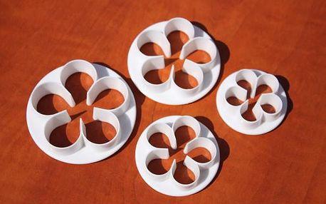 Vykrajovátka okvětní pětilístek - růže (4ks)