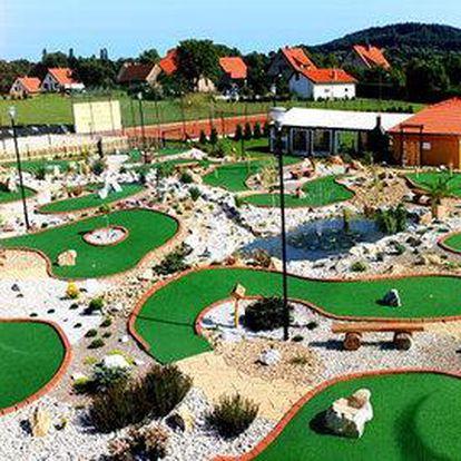 Zábavný adventure golf v Počepicích pro celou rodinu