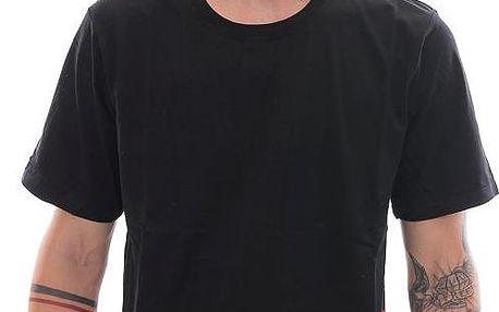 Triko DOPE Couture Striped Black černá / červená XL