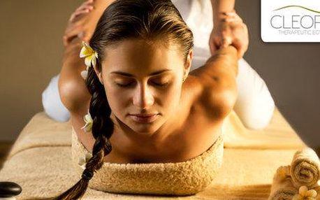 60minutová egyptská masáž Amon od rodilého…