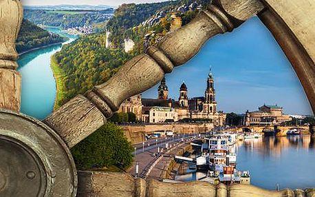 Plavba parníkem Saským Švýcarskem do Drážďan nebo Hřenska