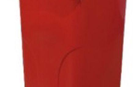 Nádoba na odpadky 120l plastová, červená
