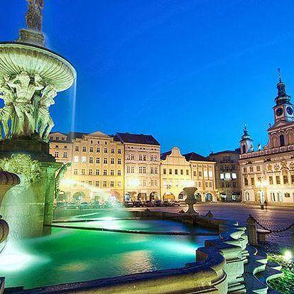 Až 5denní pobyt v hotelu Zátkův Dům v historickém centru Českých Budějovic pro dva