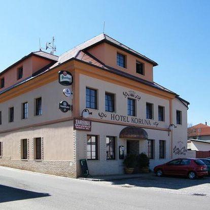Hotel Koruna - Pecka, Česká republika, vlastní doprava, strava dle programu