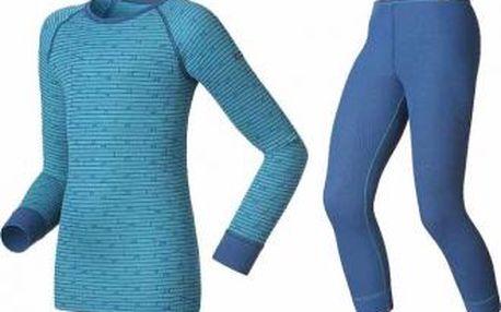 Dětské funkční prádlo Odlo SET SHIRT LS PANT LONG WARM