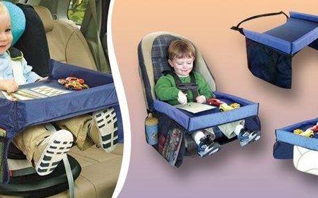 Dětský stoleček do auta – zabavte své děti při cestování