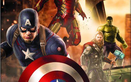Fleece dečka Avengers Age of Ultron 110x140 cm