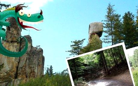 Dobrodružná hra - Bonifác zachraňuje draka na Hrubé Skále