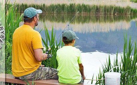 Sportovní rybolov v okolí Karviné.