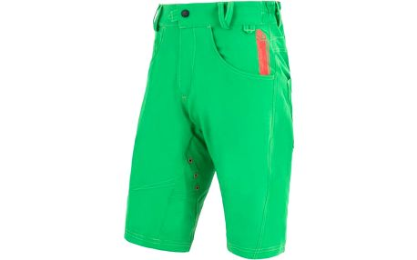 Sensor Charger Cycling Shorts Green, zelená, M