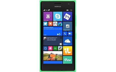 Nokia Lumia 730 Dual-SIM Bright Green