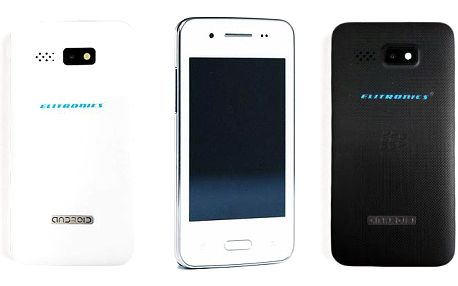 Mobilní telefony Elitronics Compact 300 a W8 mini edition