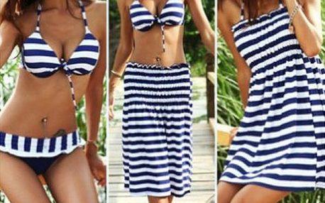 Námořnický set plavek a šatů!