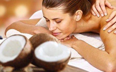 Provoněná letní kokosová masáž se zábalem
