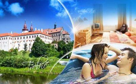 TŘEBÍČ! 3 až 5DENNÍ pobyt pro DVA ve 3* hotelu Zlatý Kříž! Romantická VEČEŘE, SNÍDANĚ a WELLNESS!