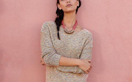 Tchibo, Pletený pulovr s tříčtvrtečními rukávy L (44/46)