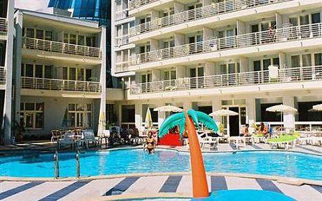 Bulharsko, oblast Slunečné Pobřeží, doprava letecky, snídaně, ubytování v 3* hotelu na 12 dní